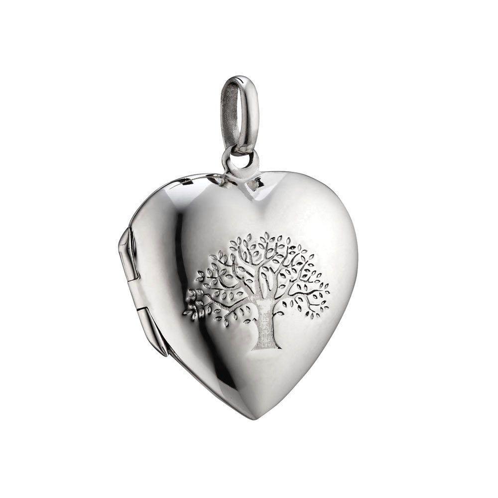 Australia Sterling Silver Tree of Life Locket