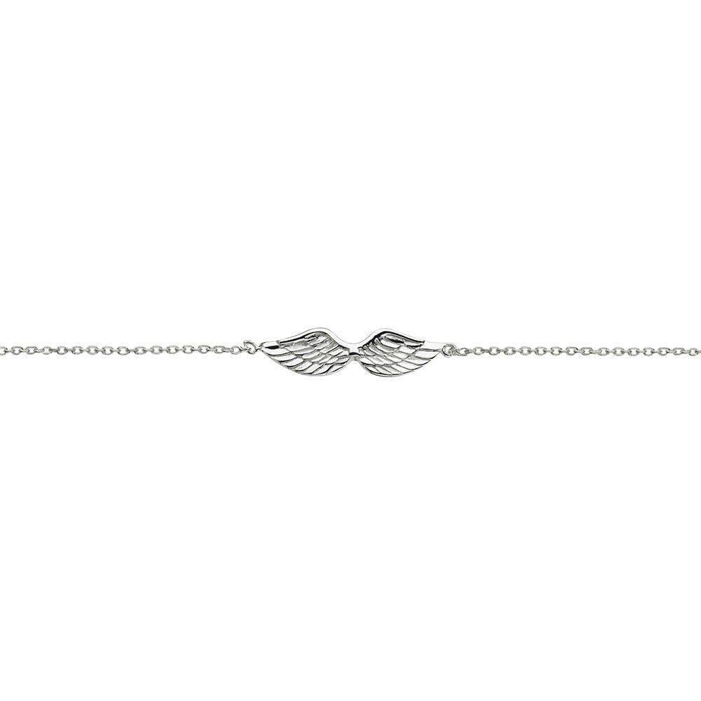 Australia Sterling Silver Angel Wing Bracelet