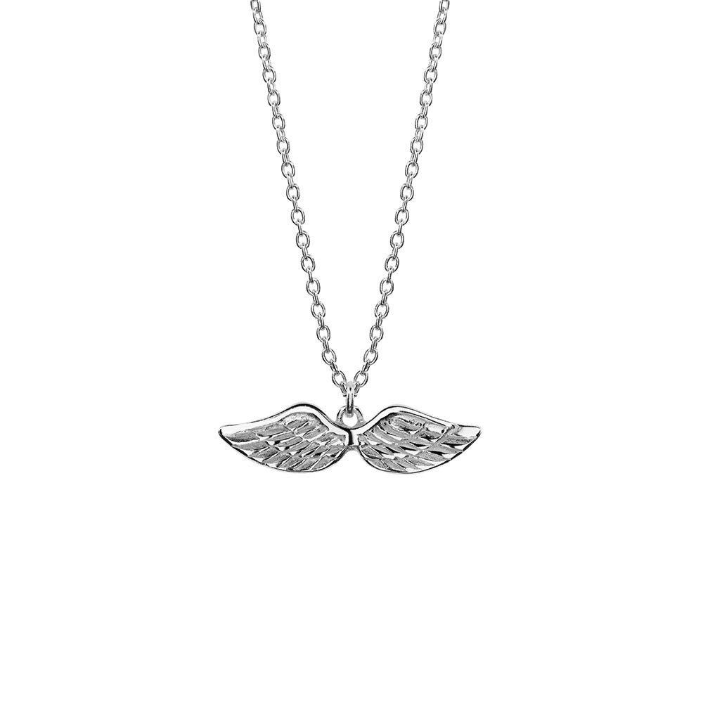 Australia Sterling Silver Angel Wings Necklace