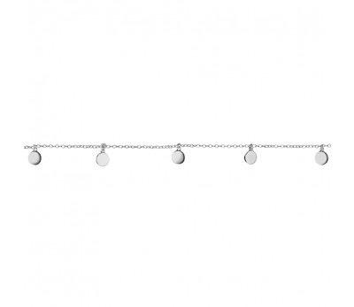 Australia Sterling Silver circle pendant bracelet