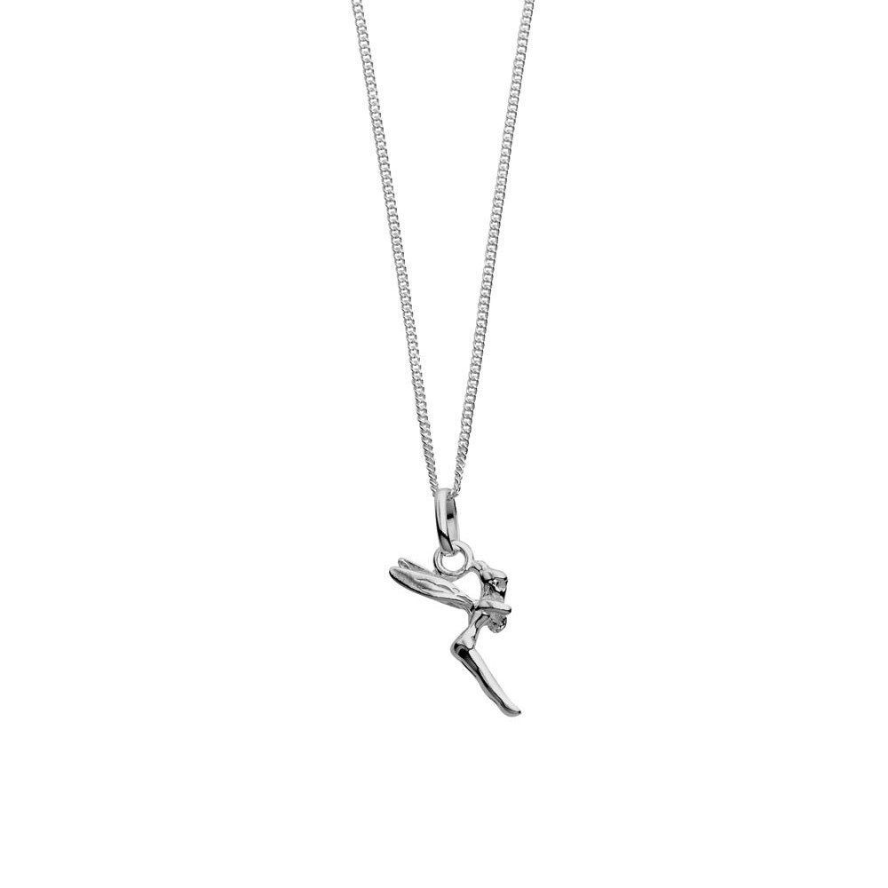 Australia Sterling Silver Fairy Necklace
