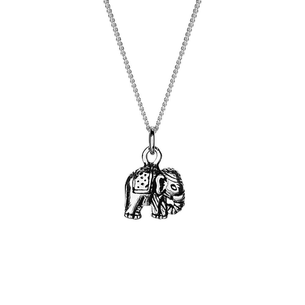 Australia Sterling Silver Elephant Necklace