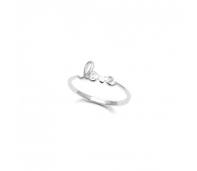 Australia Sterling Silver Love Ring