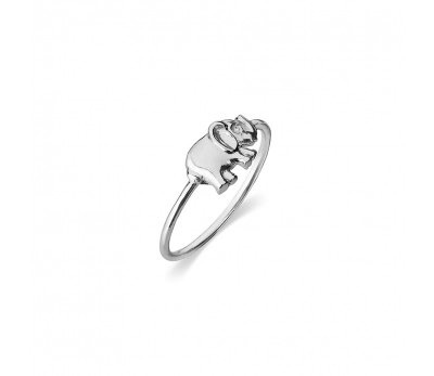 Australia Sterling Silver Elephant Ring