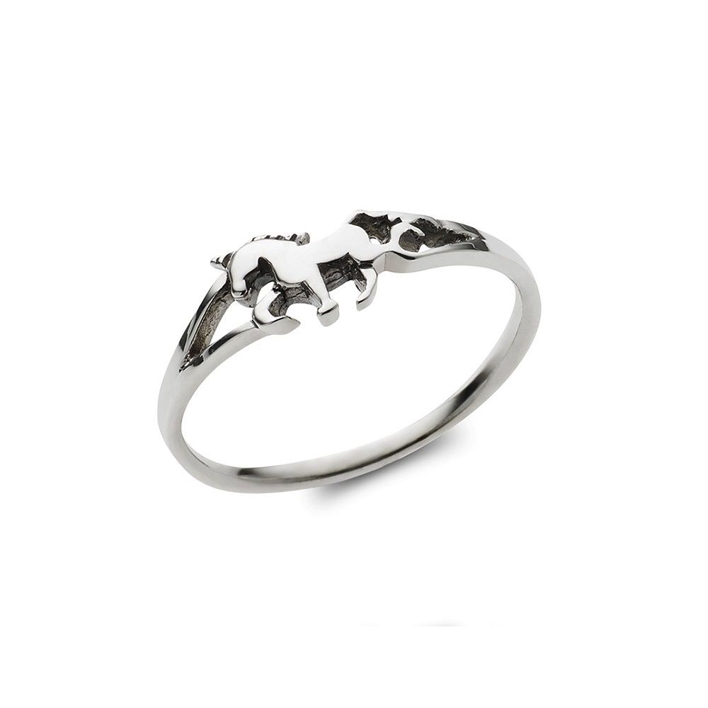 Australia Sterling Siver Unicorn Pinky Ring