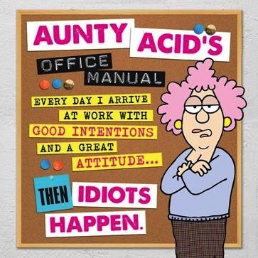 Australia Aunty Acid's Office Manual / BACKLAND GED