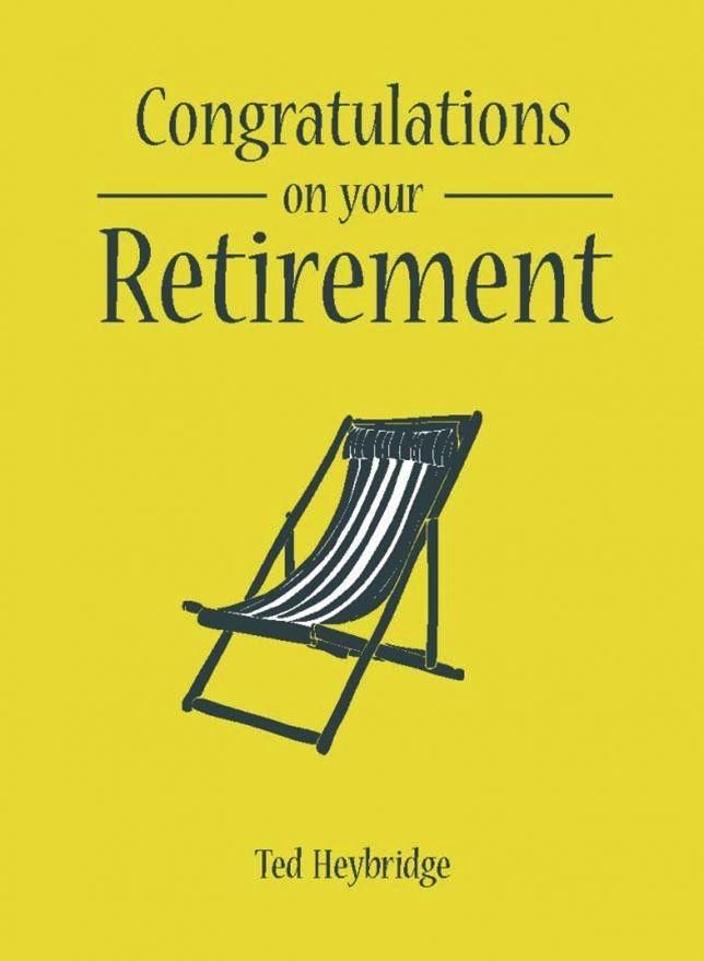 Australia Congratulations on Your Retirement / HEYBRIDGE TED