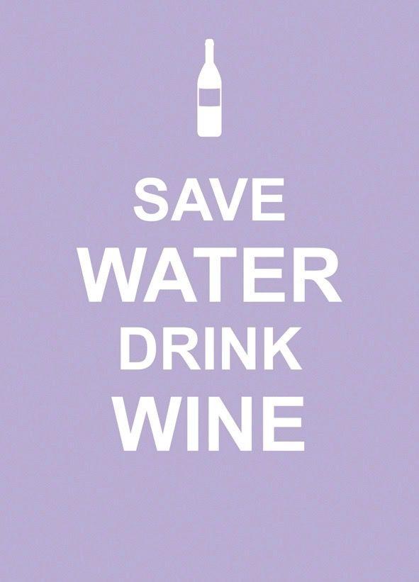 Australia Save Water Drink Wine / EDITORS SUMMERSDALE