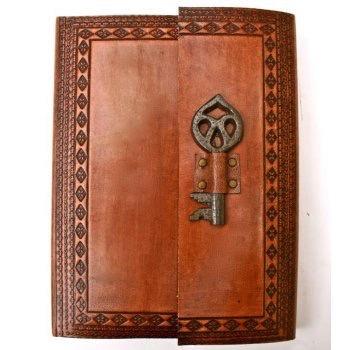 Australia Leather Journal w/- Key