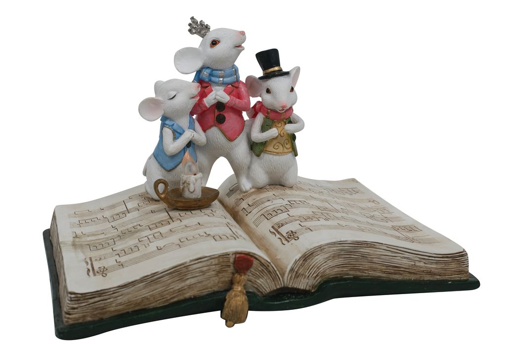 Australia Quirky Mice Choir on Book LED