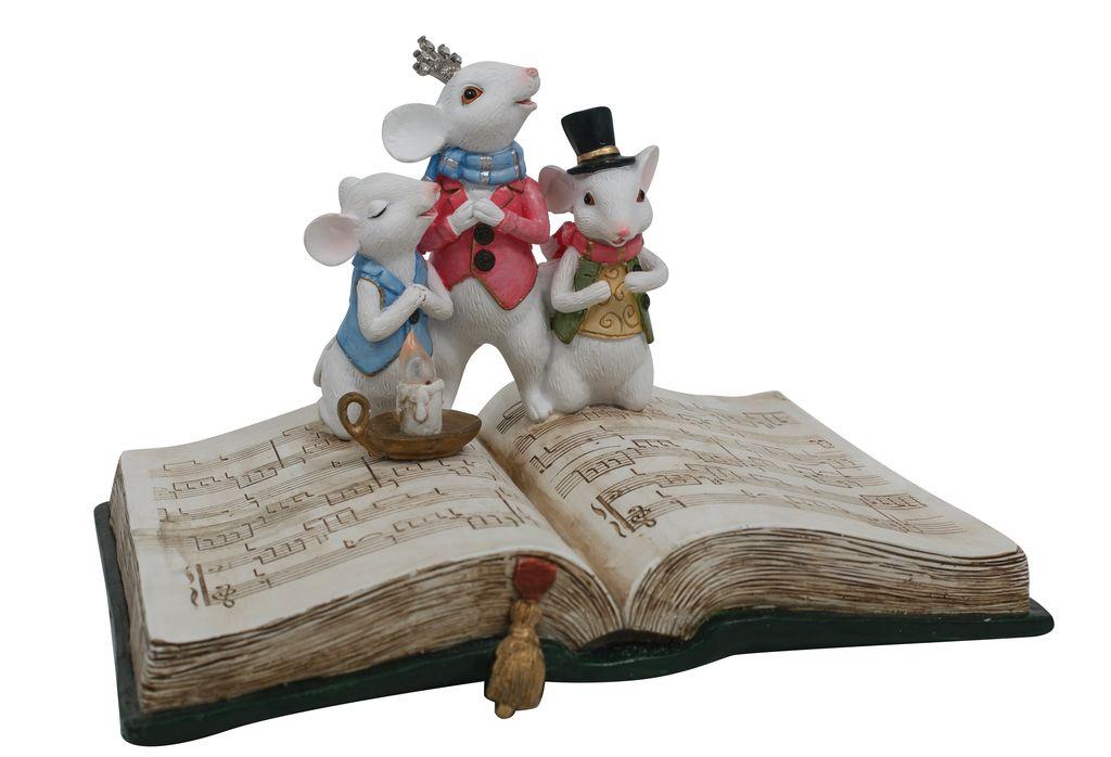 Australia Quirky Mice Choir on Book LED