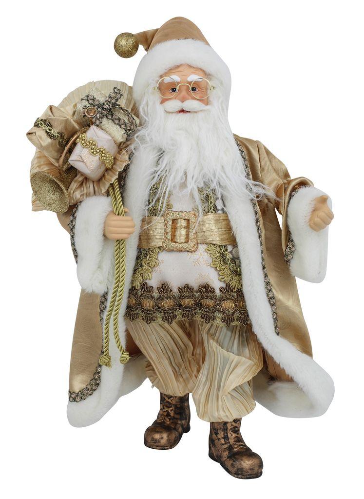 Australia Gold Santa 45cm H