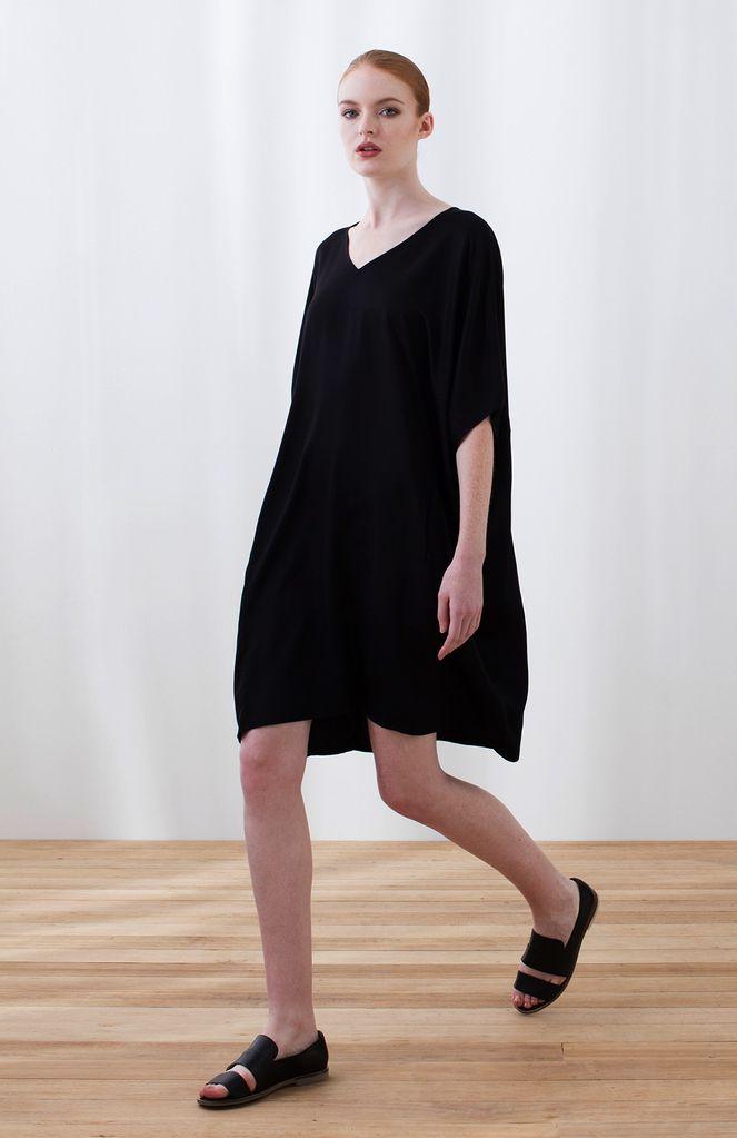 Australia M/L Black Kassett Dress