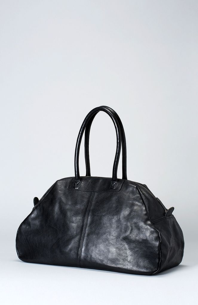 Australia Black Reizen Duffle Bag Overnight
