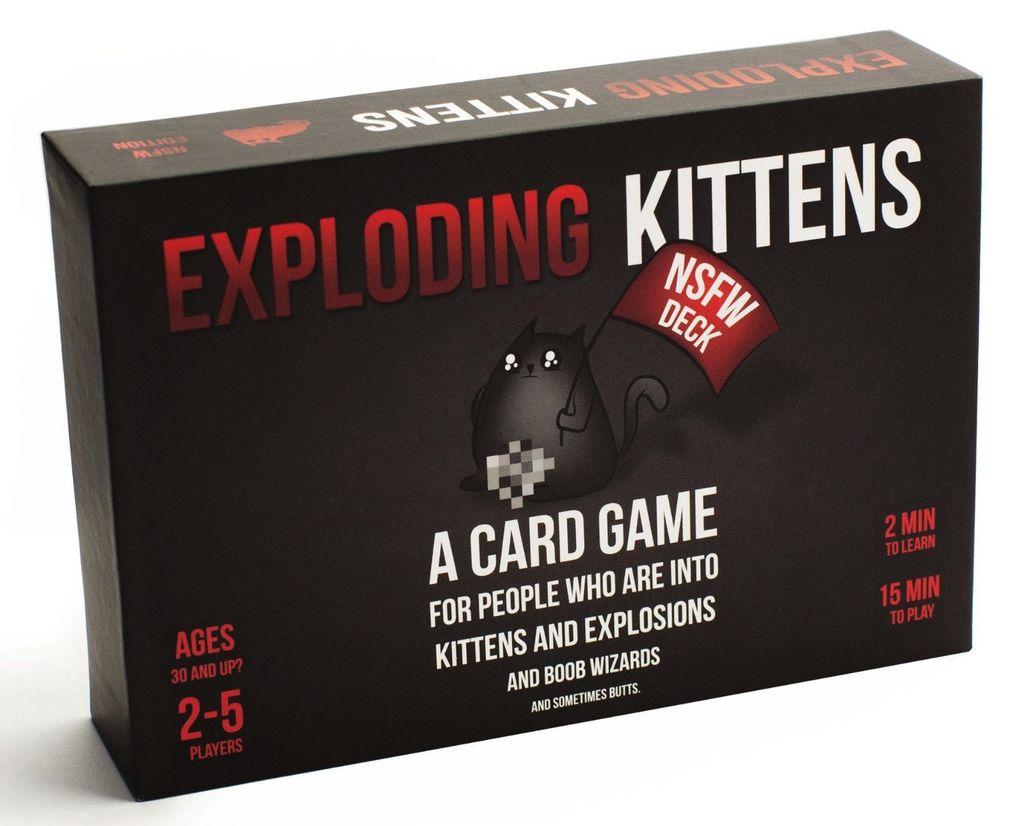 Australia EXPLODING KITTENS NSFW ED. 30+