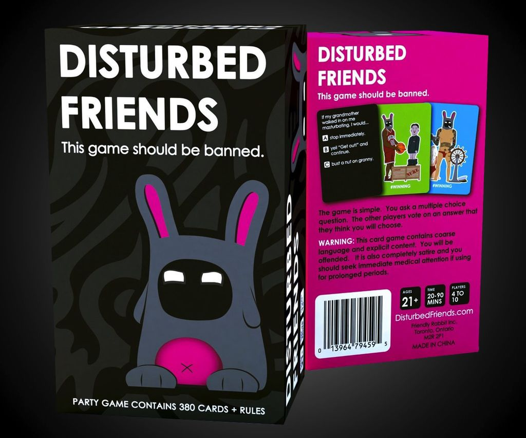 Australia Disturbed Friends