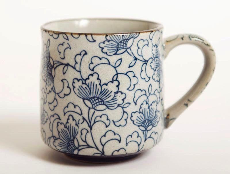 Australia White Kusa Tea Mug