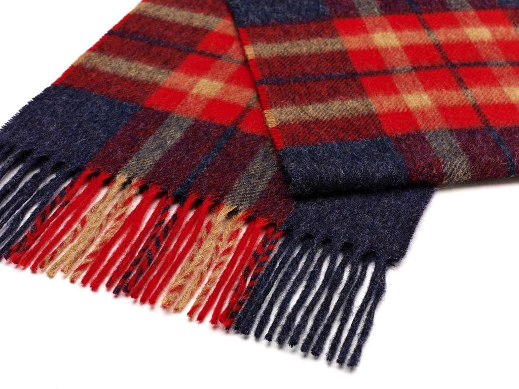 Europe S0044/U1 2 HARTLEY RED SCARF