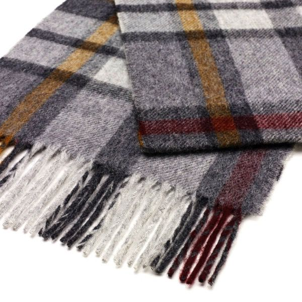 Europe S0255/E04 BUTTERTUBS GREY SCARF