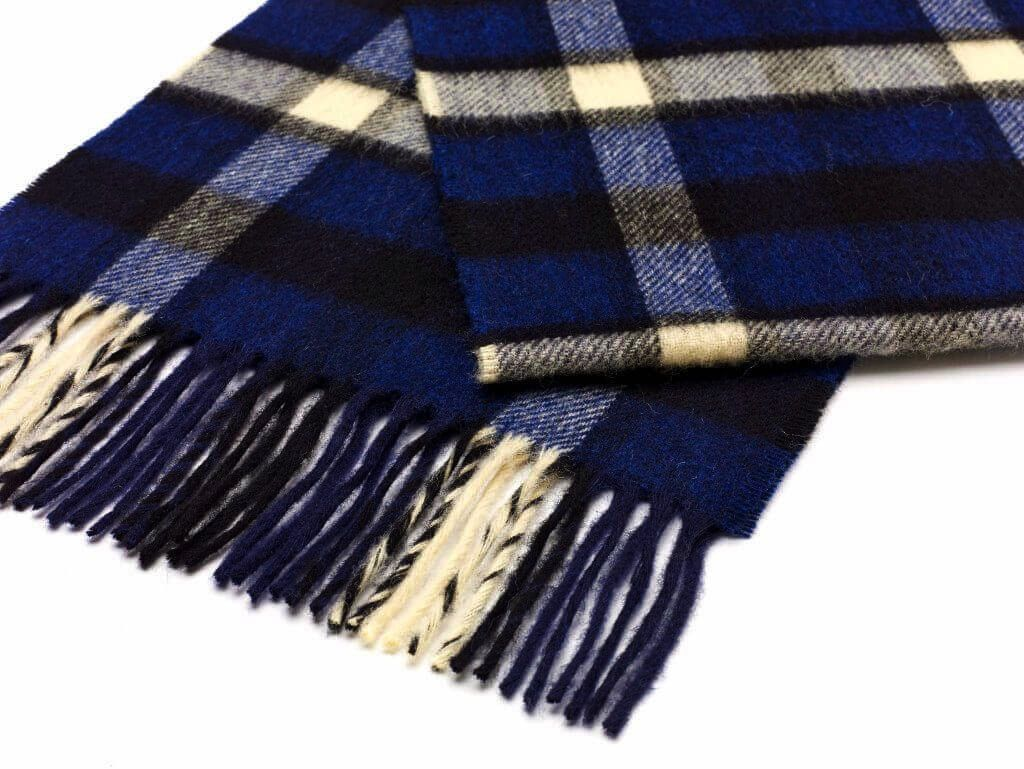 Europe S0256/A01 COUM BLUE SCARF