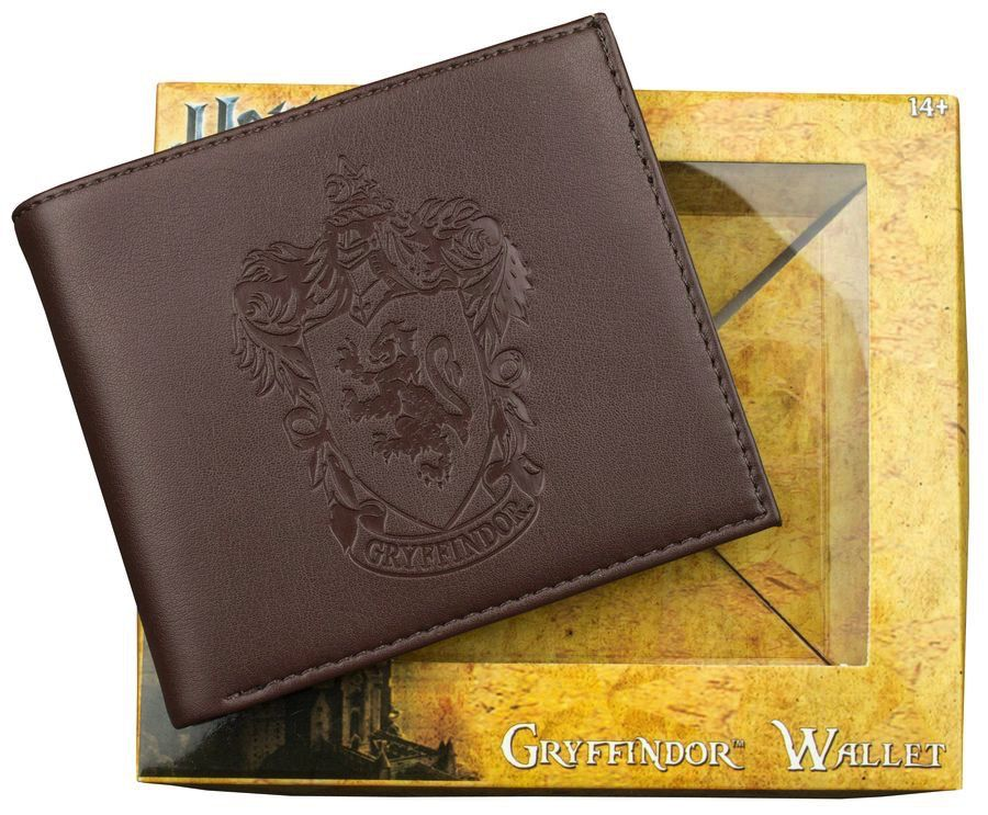 Australia Harry Potter - Gryffindor Embossed Brown Wallet