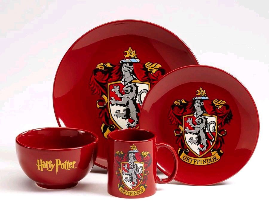 Australia Harry Potter - Gryffindor 4pc Dinner Set