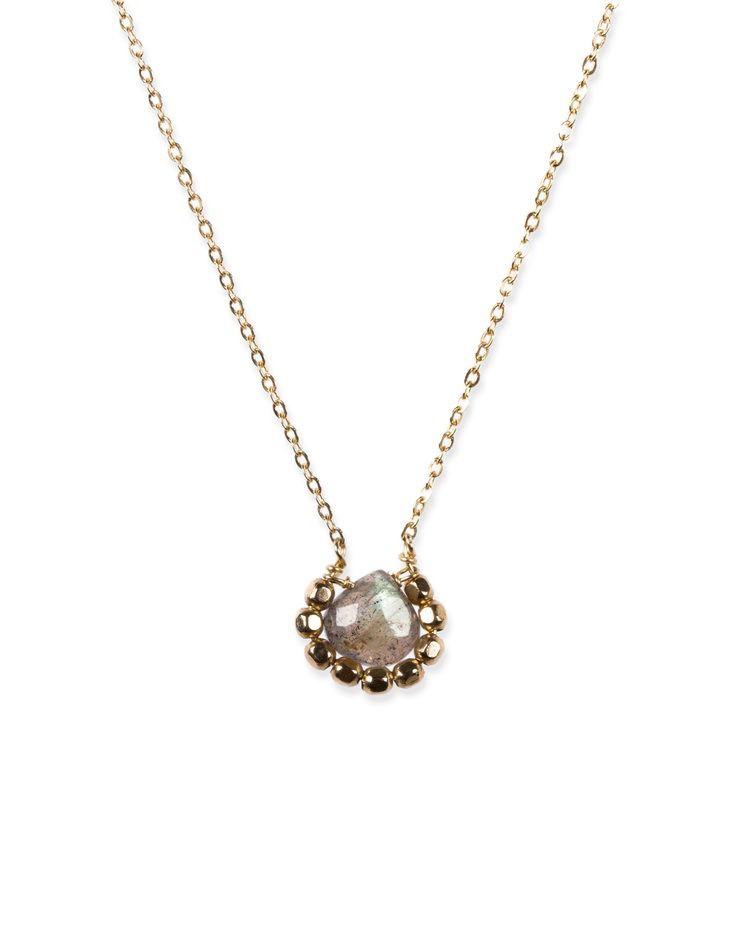 USA Iris Labra Necklace - Gold