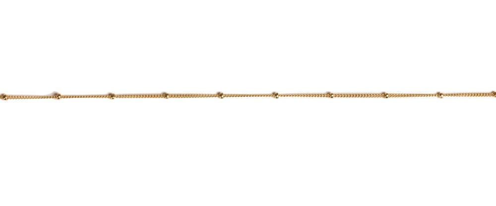 USA Dots Choker - Gold