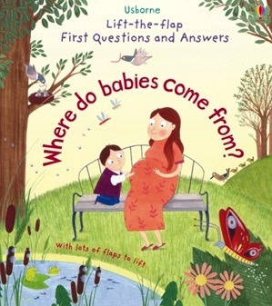 Australia Where do babies come from? Lift-the-flap first Q&As