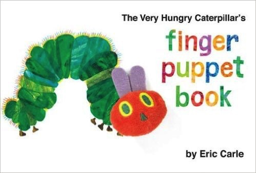 Australia Very Hungry Caterpillar's Finger Puppet Book (Board