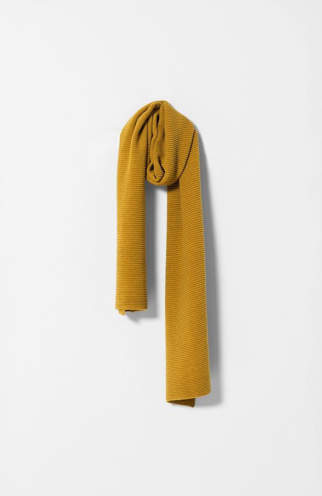Australia Sulphur Ottoman Knit Scarf