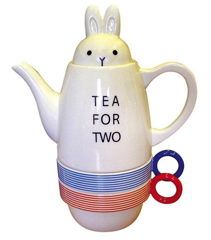 Australia Rabbit Tea for Two Set