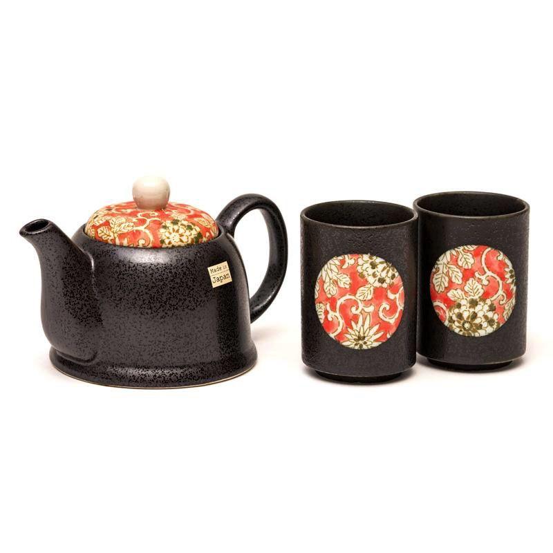 Australia Iro Karakusa 2 Cup Tea Set