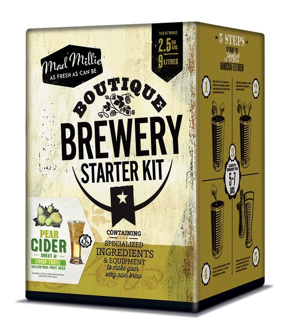 Australia Mad Millie Pear Boutique Brewery Kit