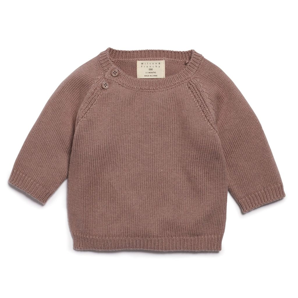 Australia WOOD KNITTED JUMPER -12-18 months