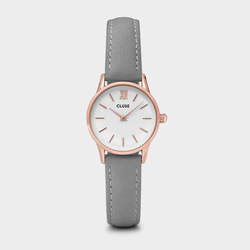 Australia CLUSE La Vedette Rose Gold White/Grey
