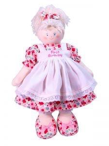 Australia First Birthday 41cm Blond Poppy Floral