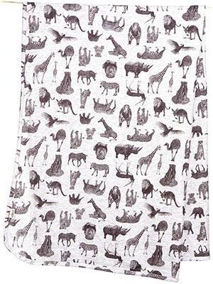 Australia Wrap Knit Print Zoo