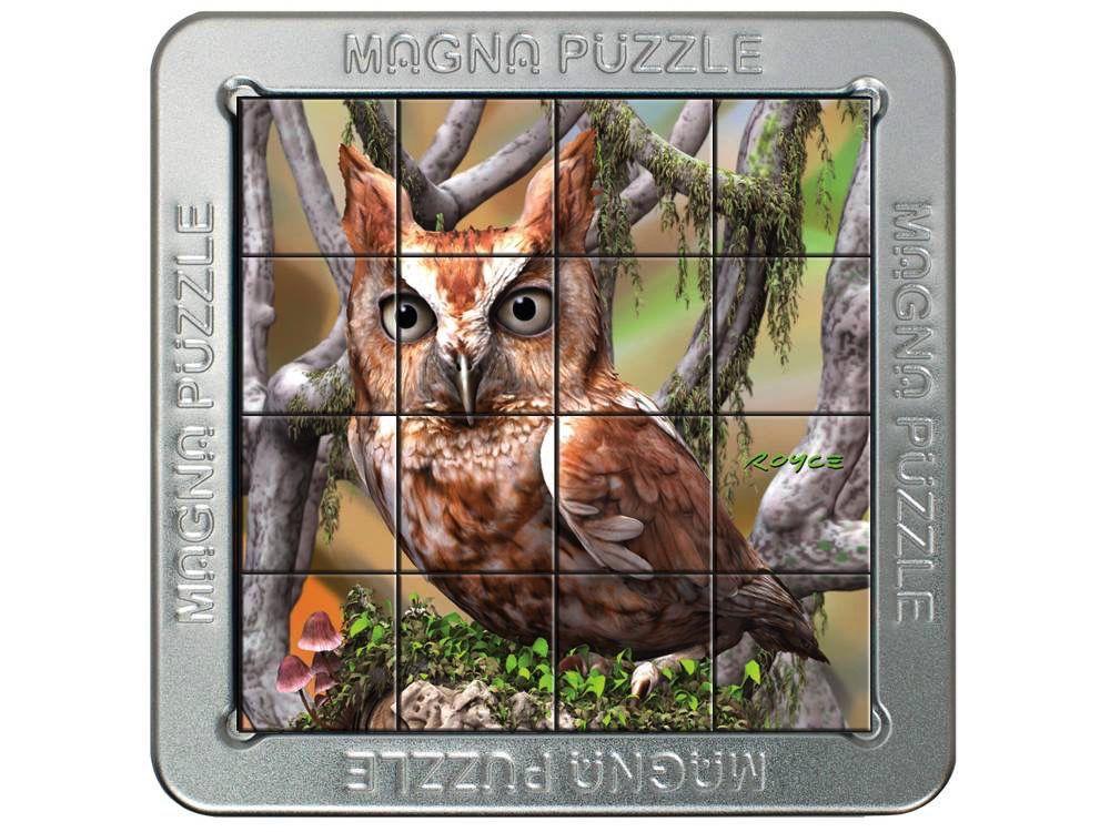 Australia 3D MAGNA PUZZLE OWL
