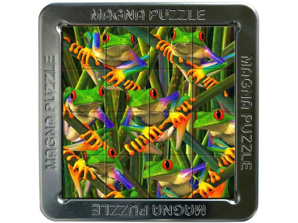Australia 3D MAGNA PUZZLE TREE FROGS