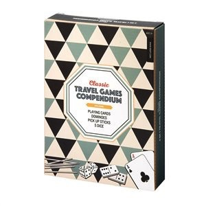 Australia Classic Travel Games Compendium 4 in 1