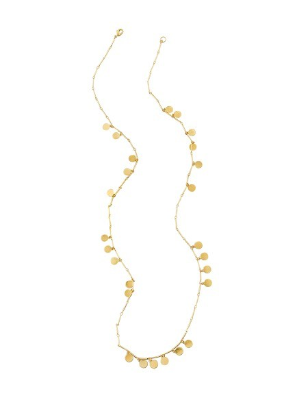 Australia Gold Scattered Tinkle Necklace