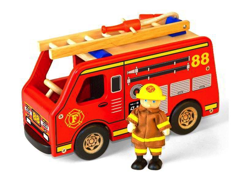 Australia FIRE ENGINE w/ FIREMAN