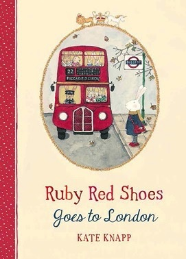 Australia Ruby Red Shoes Goes To London
