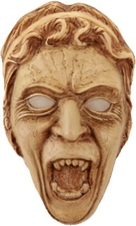 Australia Dr Who - Weeping Angel Vacuform Mask
