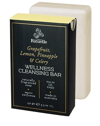Australia HV 150gm wellness bar grapefruit, lemon, pineapple & celery