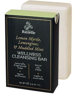 Australia HV 150gm wellness bar lemon myrtle, lemongrass & muddled mint