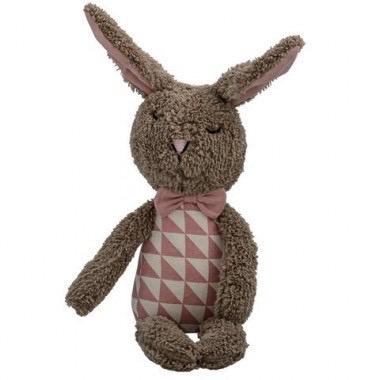 Australia Plush bunny brown.rose ,off white