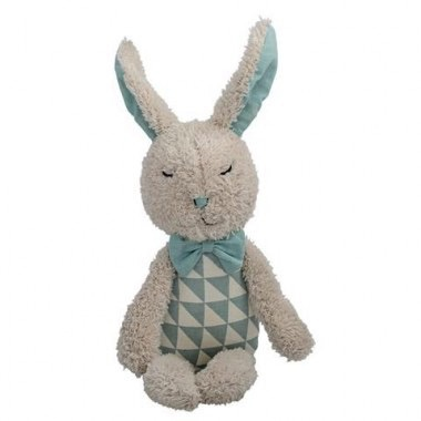 Australia Plush bunny white dusty mint