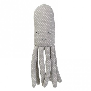 Australia Knitted Toy Octopus Grey Cotton